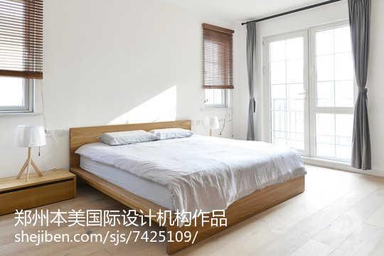 热门日式别墅卧室效果图片