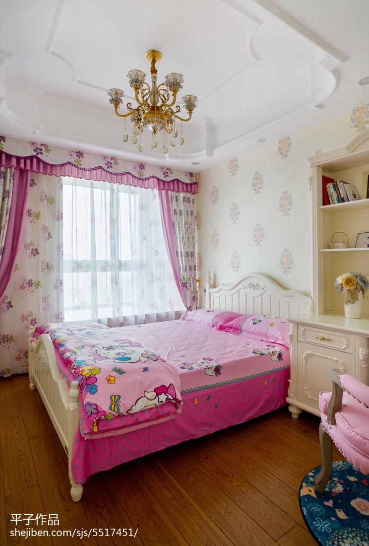 温馨混搭风格儿童房装修