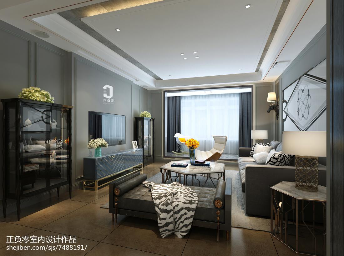 木质低奢现代豪宅卧室