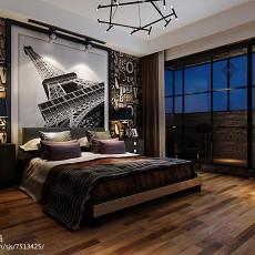 2018复式卧室实景图片