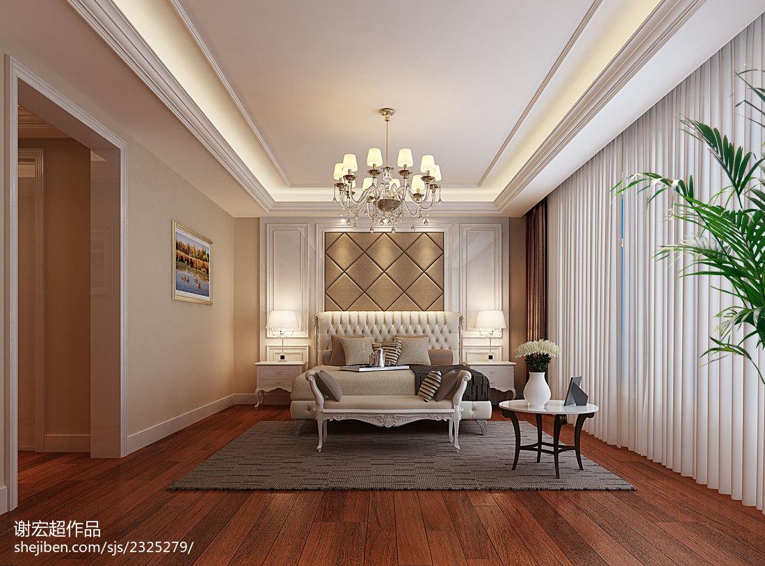 绮丽创意新古典风小卧室装修效果图