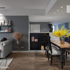 2018精选面积104平美式三居客厅装饰图片欣赏