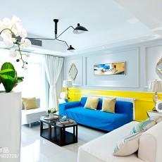 热门面积134平复式客厅混搭装修效果图片大全