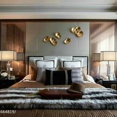 2018现代卧室装饰图片