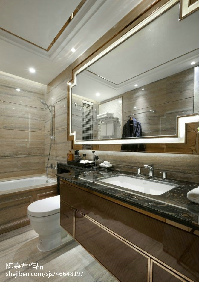 現代風格精美衛浴設計