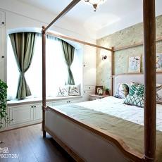 精选123平米四居卧室美式装饰图片欣赏