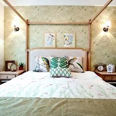 热门美式四居卧室欣赏图片