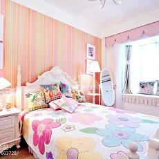 优美91平美式四居卧室效果图片大全