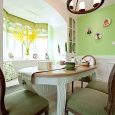 热门118平米四居餐厅美式装修欣赏图