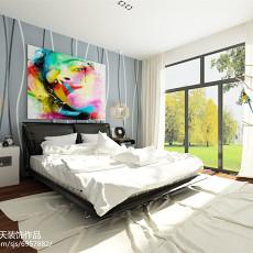 83平米二居卧室简约装修实景图片欣赏