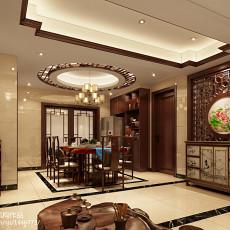 热门中式四居餐厅装修效果图