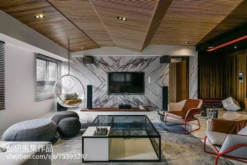 家装中式风格背景墙装修