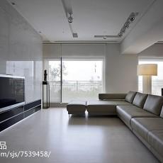 精美大小103平现代三居客厅装修效果图片欣赏