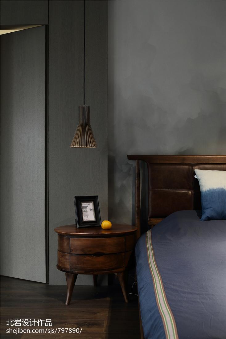 悠雅47平简约复式卧室装修效果图