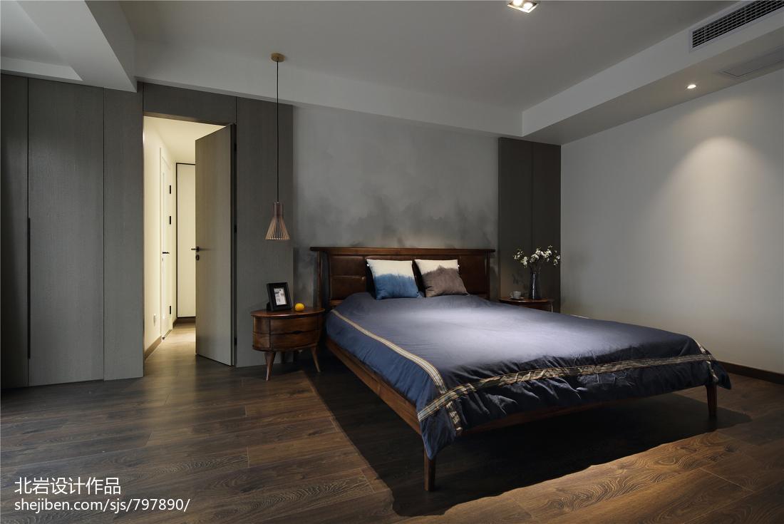 优美49平简约复式卧室效果图片大全