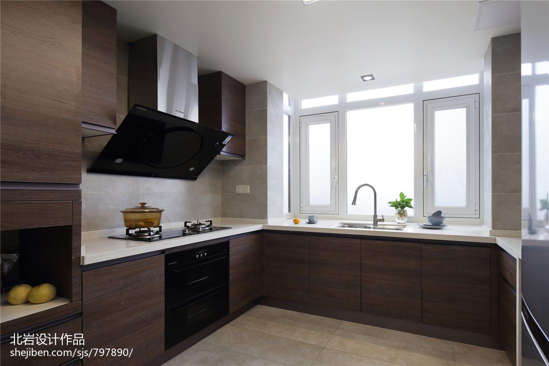 简洁75平简约复式厨房装修案例