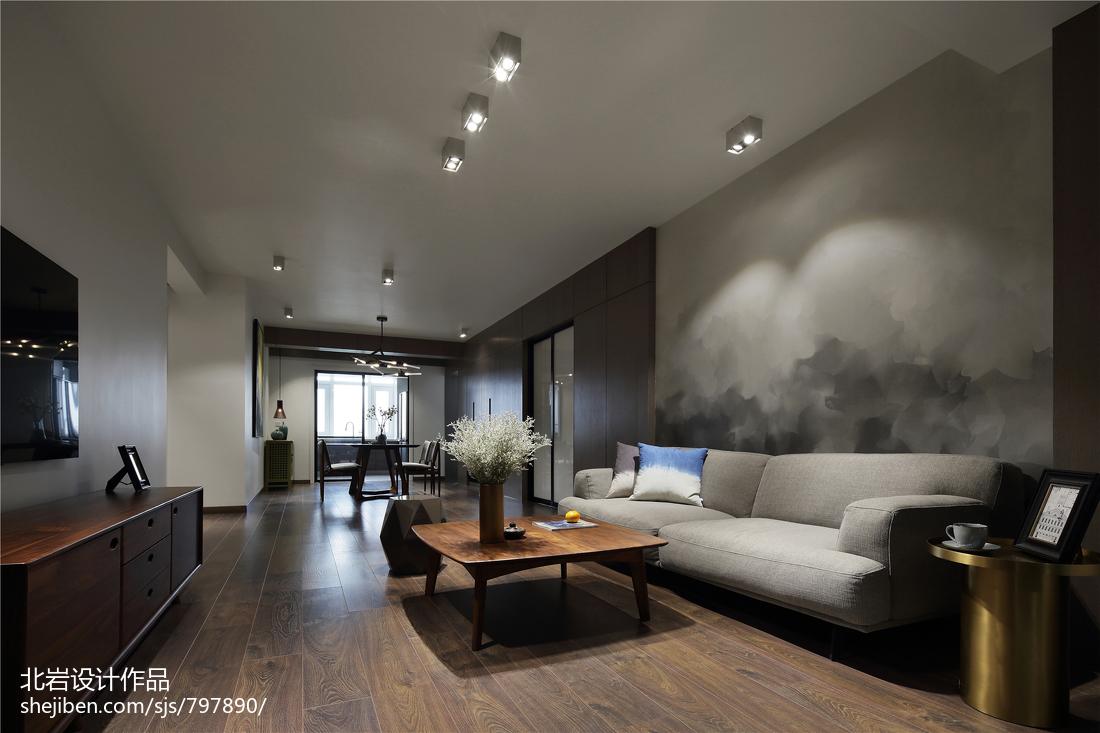 优美41平简约复式客厅图片大全