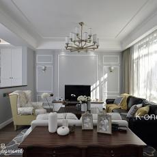 大小135平别墅客厅美式欣赏图片大全