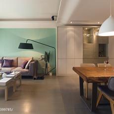 精选85平米二居客厅现代装修设计效果图片欣赏