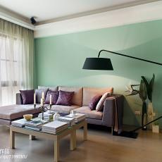 精选70平方二居客厅现代欣赏图片