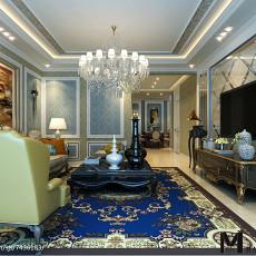 精美90平方三居客厅欧式实景图片大全