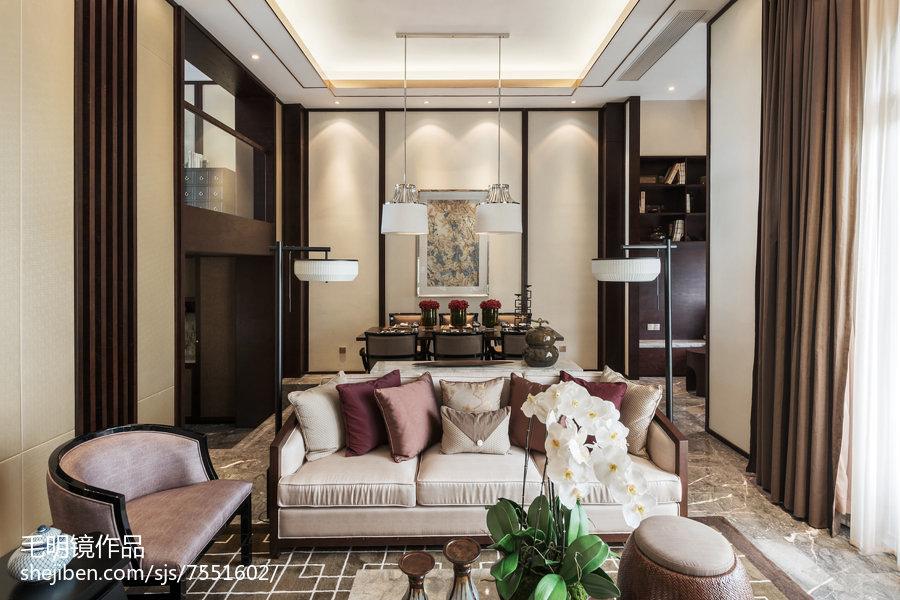 精美客厅中式装修效果图片欣赏