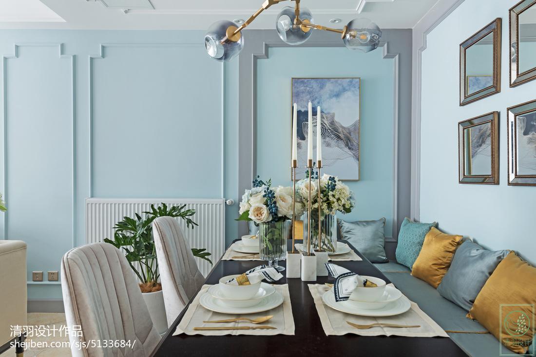 精选美式三居餐厅装修欣赏图片