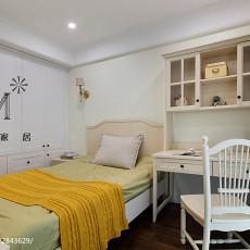 精美美式三居装修效果图片大全
