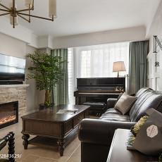 精选107平米三居客厅美式装修图片欣赏