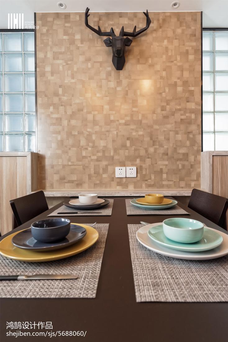 精美北欧三居餐厅效果图片