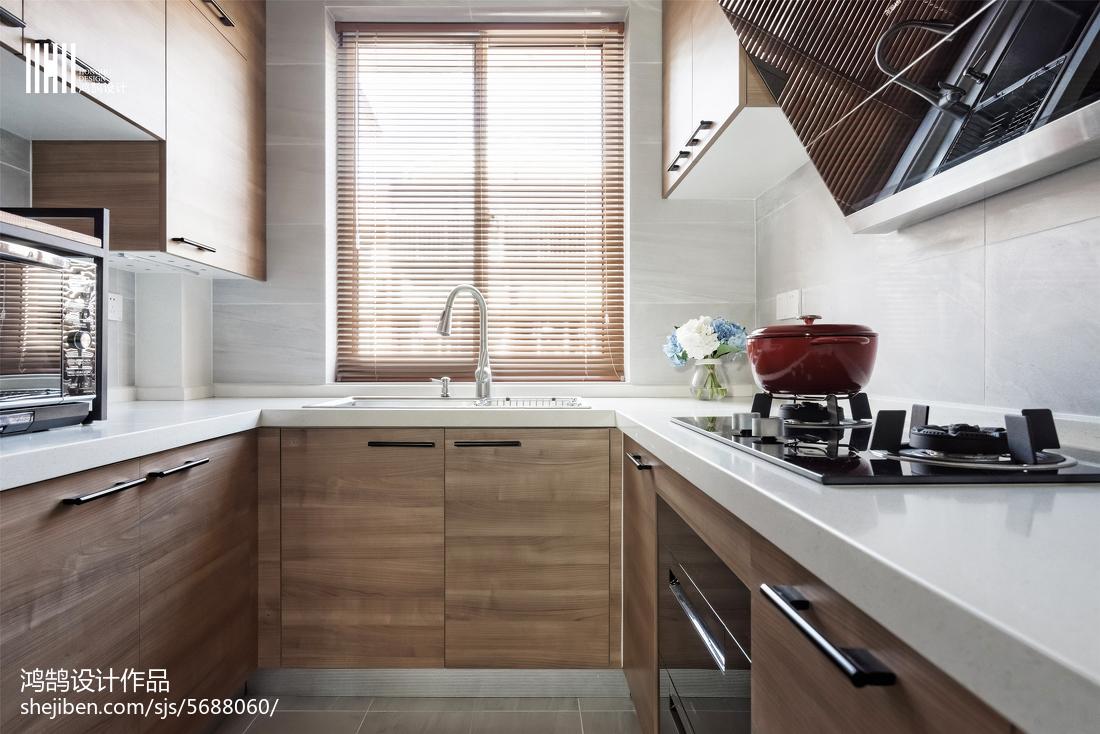 2018三居厨房北欧效果图片大全