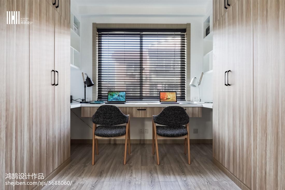 精选三居书房北欧装修设计效果图