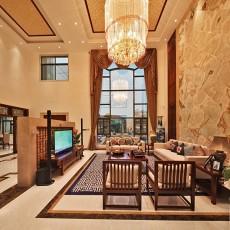 精美中式客厅装修实景图片大全