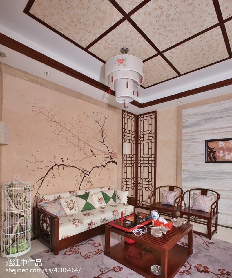 古韵中式风格休闲区设计