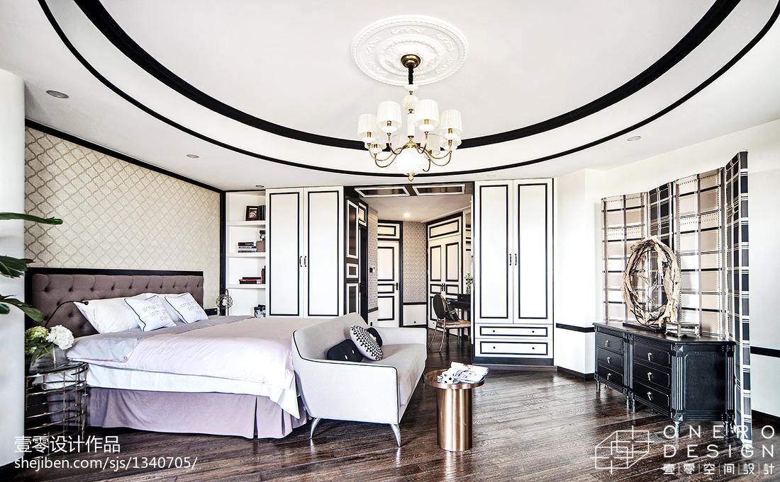 热门面积129平四居卧室装修图片欣赏