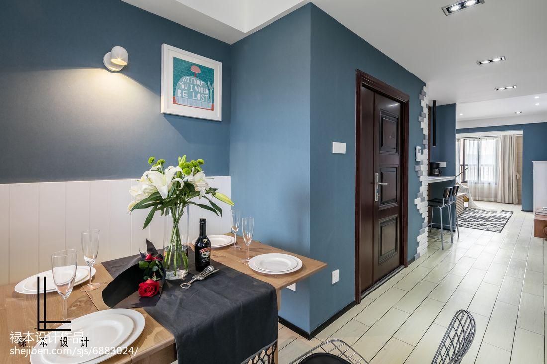 精美82平米二居餐厅现代装饰图片欣赏