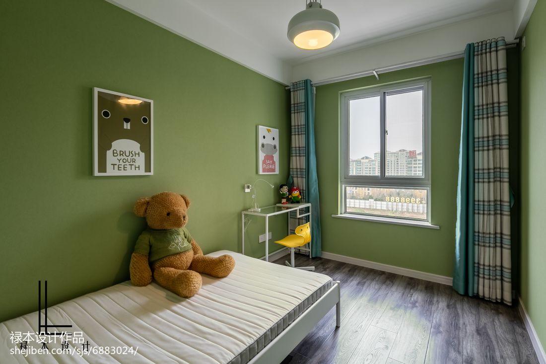 精美面积83平现代二居儿童房装修设计效果图