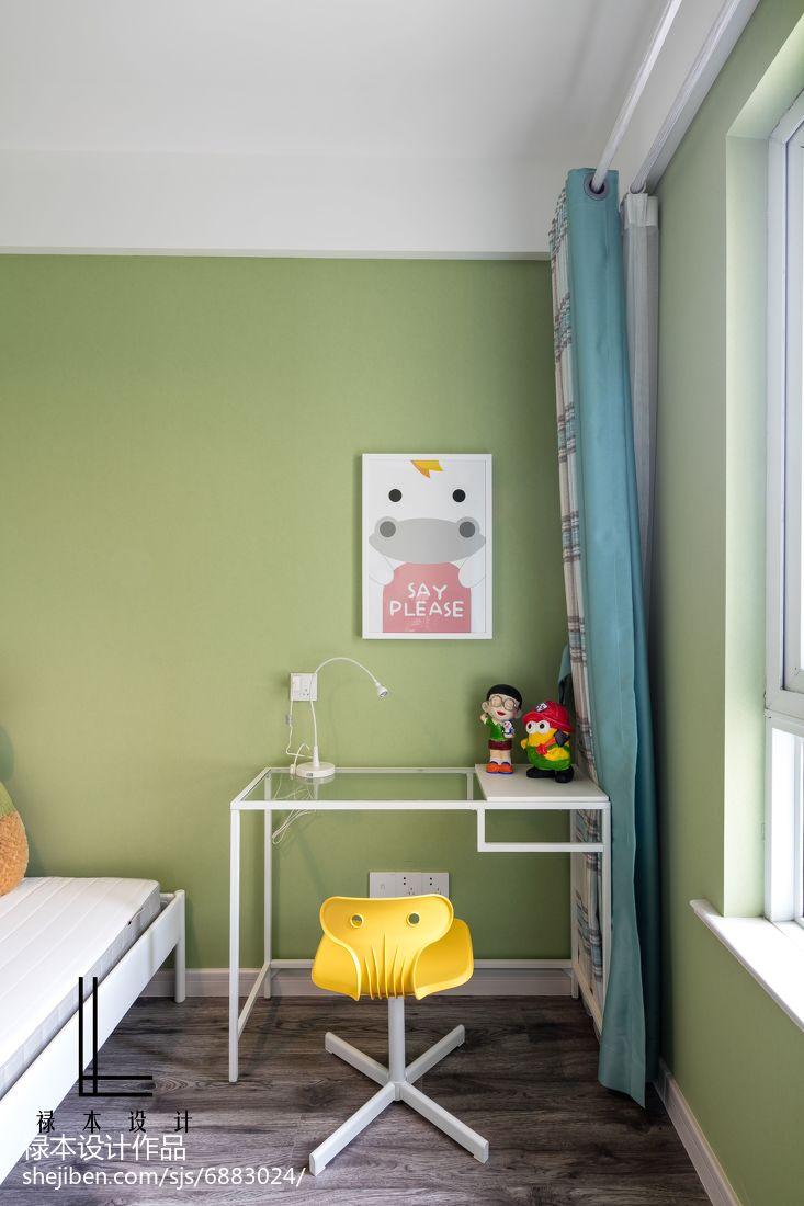轻奢87平现代二居儿童房设计美图