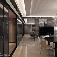 2018精选91平方三居客厅现代装修效果图片