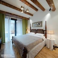 2018精选面积124平复式卧室混搭效果图片欣赏