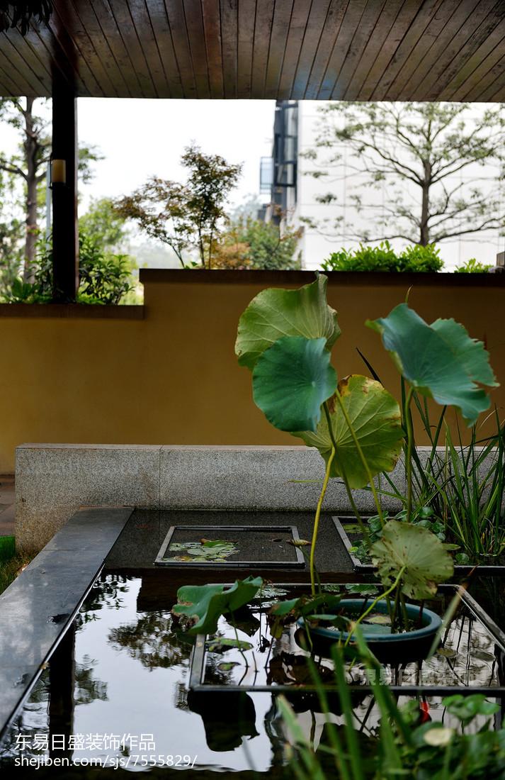 精美别墅花园中式效果图片欣赏
