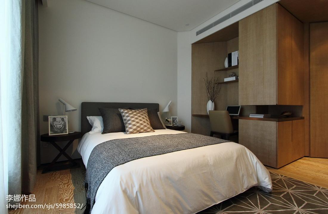 现代风格三居室卧室设计大全