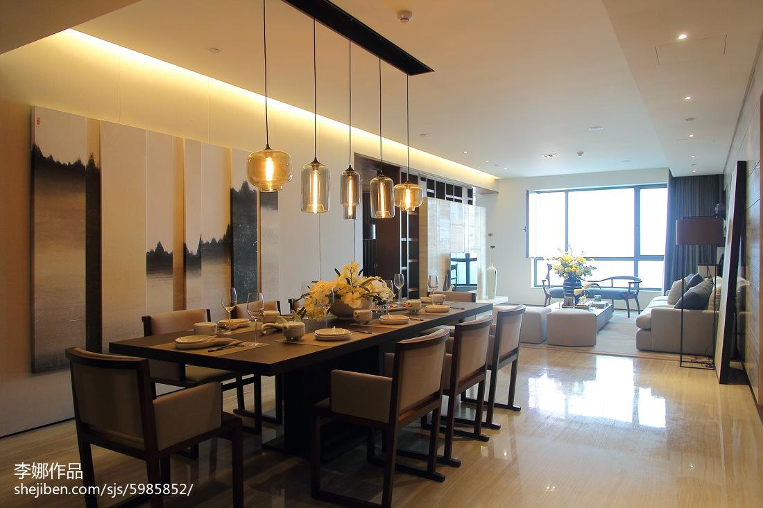 新中式风格家居餐厅装修