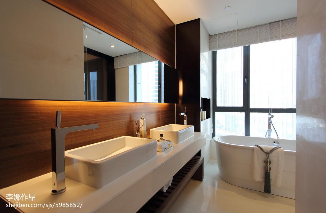 新中式风格卫浴设计案例