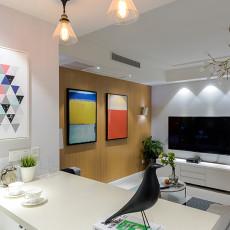悠雅82平现代二居客厅装修图片