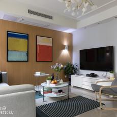 质朴54平现代二居客厅美图