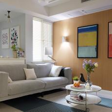 华丽50平现代二居客厅设计效果图