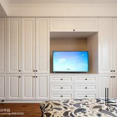 面积96平美式三居卧室效果图