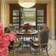 精选大小111平别墅餐厅欧式装饰图片欣赏