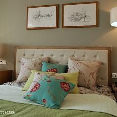 2018三居卧室简约装修设计效果图片欣赏